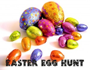 Easter Egg Hunt Postcard - Front